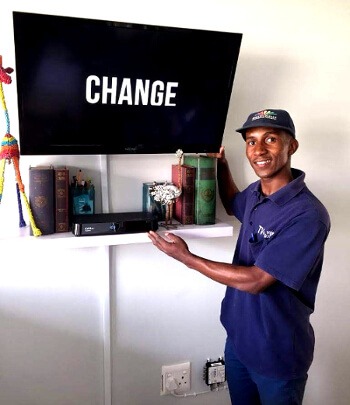 television mounting experts eastern pretoria - Our Services